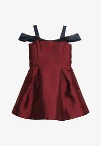 Friboo - Vestito elegante - red plum/navy - 2