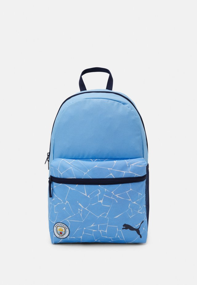 MANCHESTER CITY FC FOOTBALL CORE BACKPACK - Torba sportowa - team light blue/peacoat