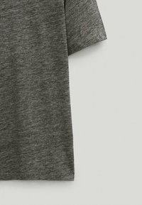 Massimo Dutti - T-Shirt basic - light grey - 3