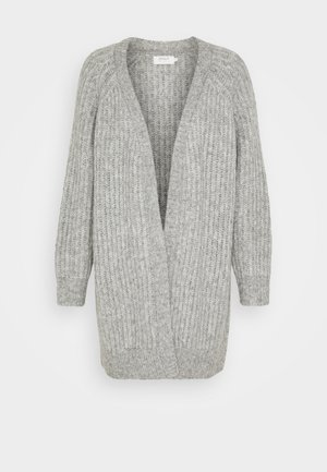 ONLNEW CHUNKY  - Strikjakke /Cardigans - light grey melange