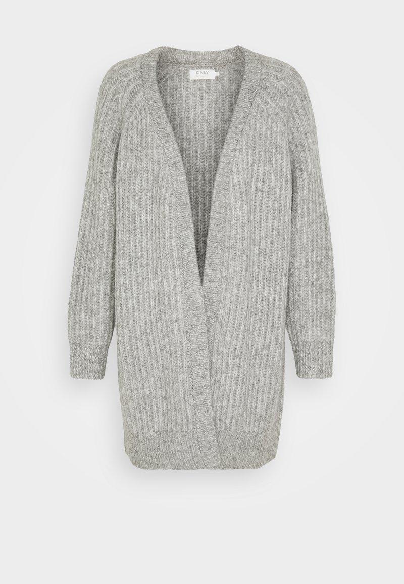 ONLY - ONLNEW CHUNKY  - Cardigan - light grey melange