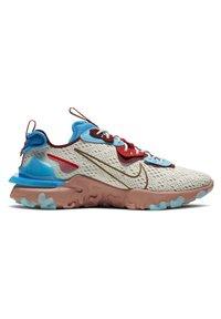 Nike Sportswear - REACT VISION  - Trainers - light bone photo blue team red terra blush - 5