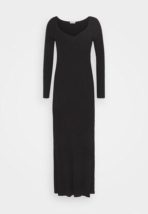 FREREA - Abito in maglia - black