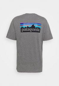 Patagonia - LOGO RESPONSIBILI TEE - T-shirt imprimé - gravel heather - 1