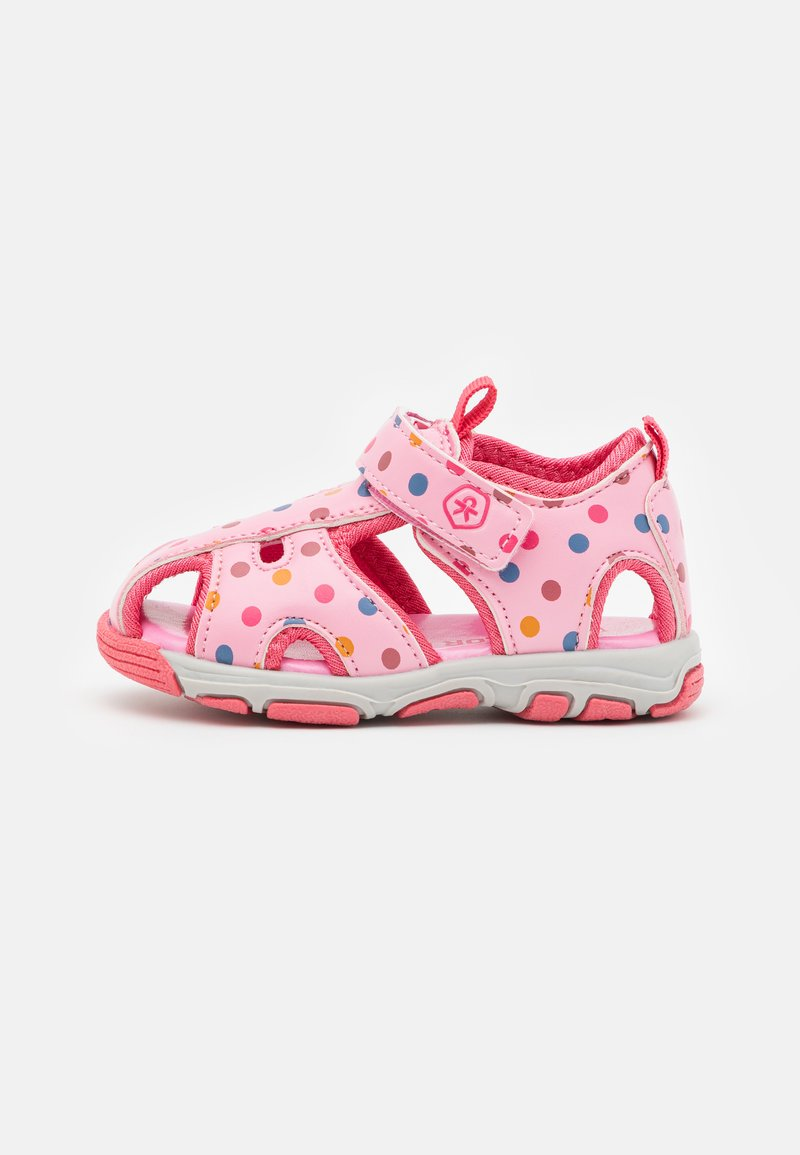 Color Kids - BABY VELDRO STRAP - Walking sandals - cotton candy
