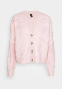 YAS - YASSUDANA CARDIGAN - Cardigan - chalk pink melange - 4