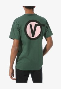 Vans - OFF THE WALL CLASSIC CIRCLE - Print T-shirt - pine needle - 1