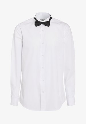 SLIM FIT WITH BOW TIE, CUMMERBUND AND CUFFLINKS - Camisa - white