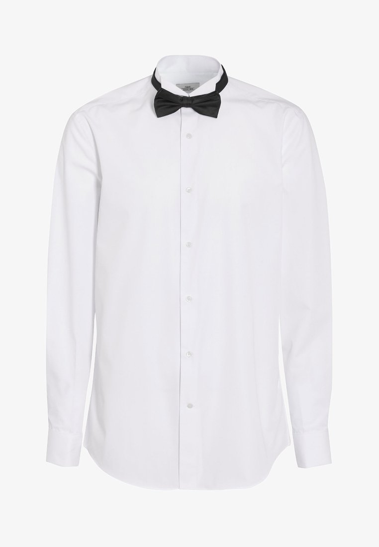Next - SLIM FIT WITH BOW TIE, CUMMERBUND AND CUFFLINKS - Camicia - white