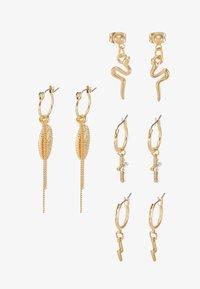 Pieces - Øreringe - gold-coloured - 3