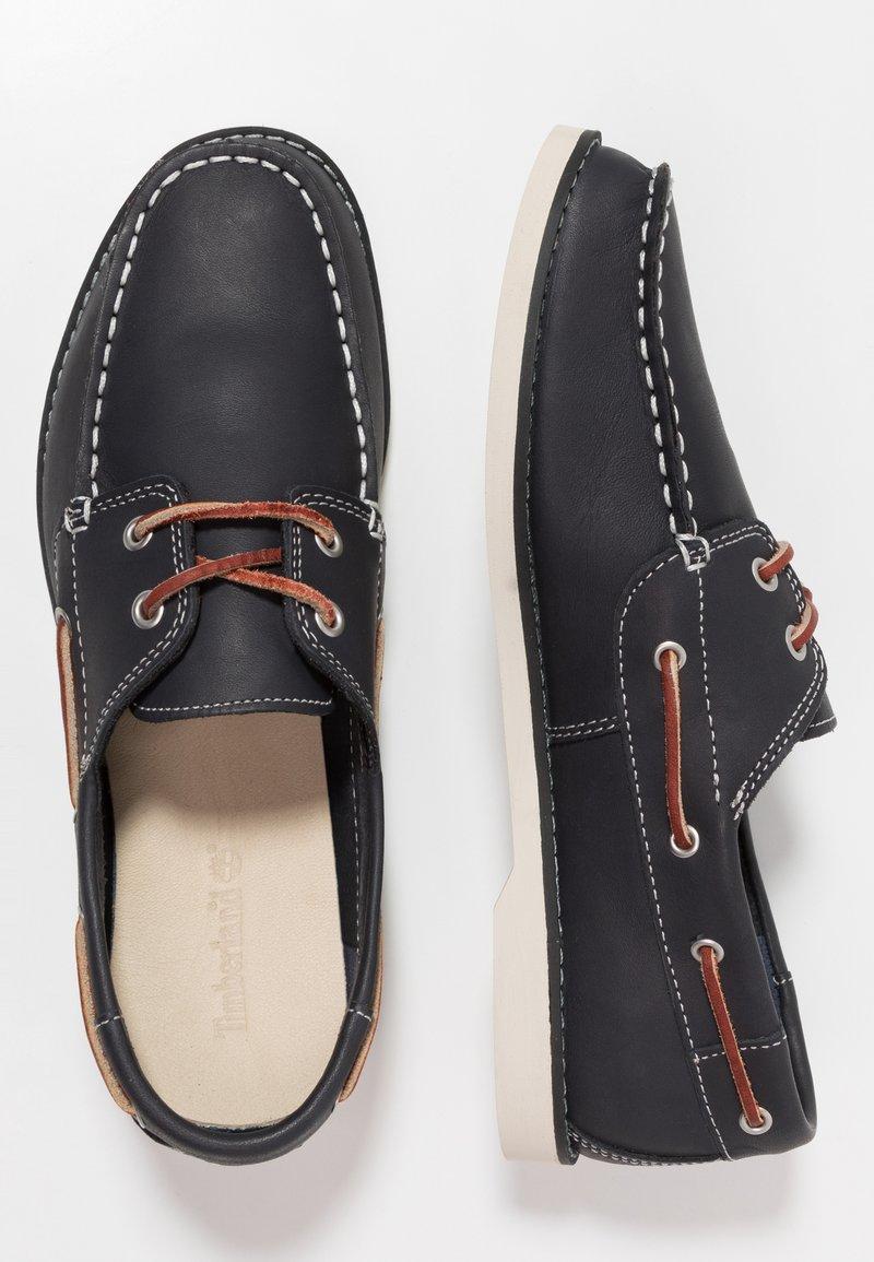 Timberland - SEABURY CLASSIC 2EYE - Boat shoes - navy