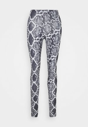 ONLARIA LONG - Leggings - Trousers - quiet grey/black