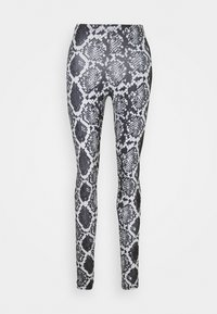 ONLARIA LONG - Leggings - Trousers - quiet grey/black