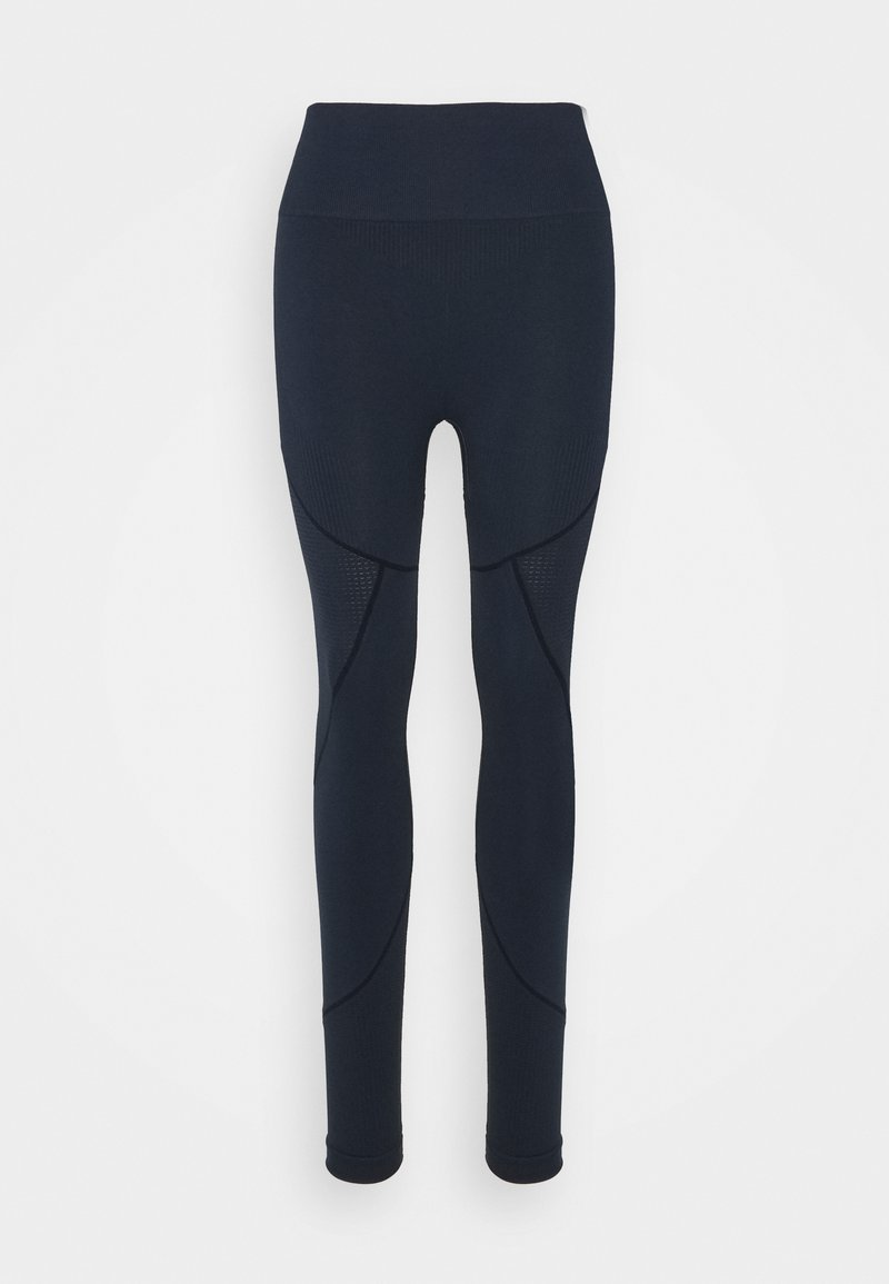 NU-IN - SEAMLESS TWO TONE HIGH WAIST LEGGINGS - Collant - navy