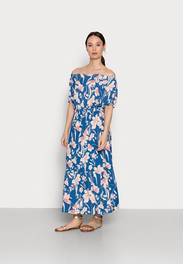 Długa sukienka - bright blue