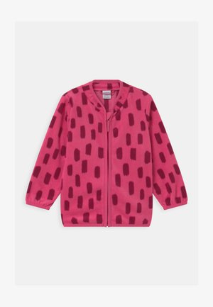 MINI UNISEX - Fleecejacke - dark pink