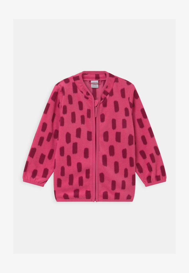 MINI UNISEX - Giacca in pile - dark pink