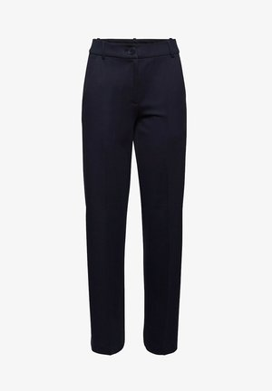 SOFT PUNTO - Trousers - navy