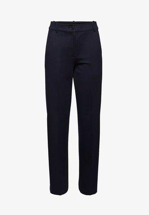 SOFT PUNTO - Pantalon classique - navy