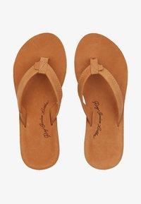 Roxy - LORRAINE  - T-bar sandals - light brown - 0