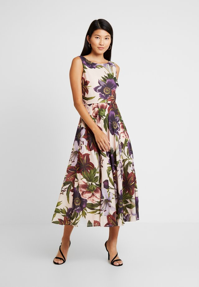 ARGENTI PRINT CARLY DRESS - Cocktail dress / Party dress - blush/multi