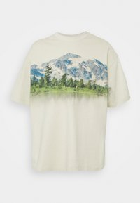 Jaded London - MOUNTAIN SCENE GRAPHIC - Camiseta estampada - ecru - 0