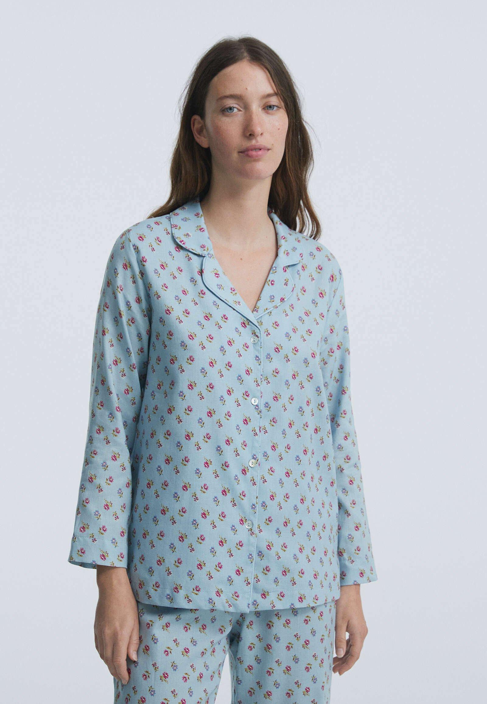 Donna MIT BLUMENPRINT  - Maglia del pigiama
