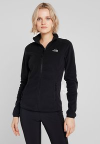 The North Face - WOMENS GLACIER FULL ZIP - Fleecejakker - black - 0