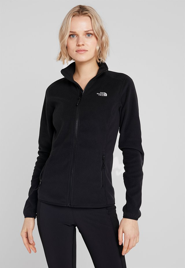 WOMENS GLACIER FULL ZIP - Fleece jacket - black