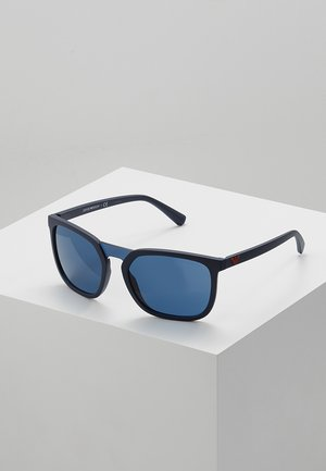 Sunglasses - matte blue/blue