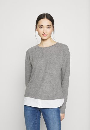 VMBRIANA  - Jumper - medium grey melange