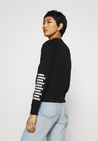 Armani Exchange - Sweatshirt - black - 2