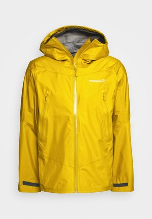 FALKETIND GORE TEX JACKET - Veste Hardshell - golden palm