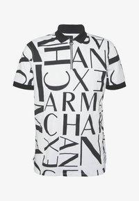 Armani Exchange - Koszulka polo - white/black - 4