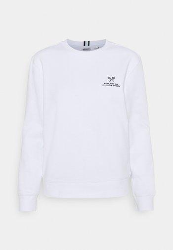 MARIA CREW - Sweatshirt - brilliant white