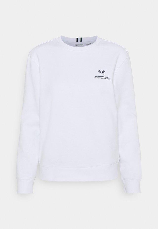 MARIA CREW - Sweater - brilliant white