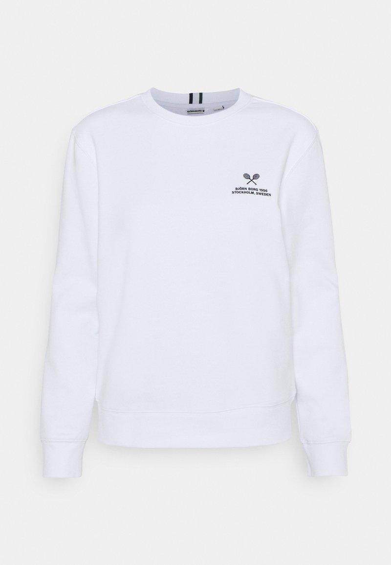 Björn Borg - MARIA CREW - Sweatshirt - brilliant white