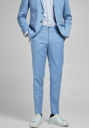 Suit trousers - chambray blue