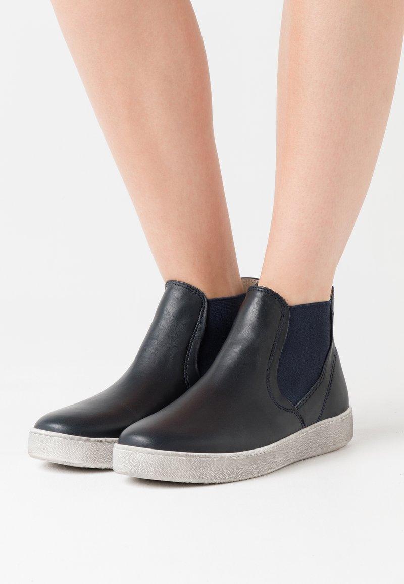 Tamaris - Kotníková obuv - navy