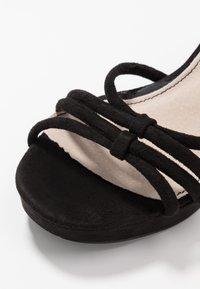 mtng - VOLGA - High heeled sandals - black - 2