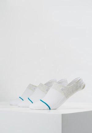 GAMUT 3 PACK - Socquettes - white