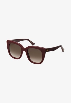 Sunglasses - burgundy/brown