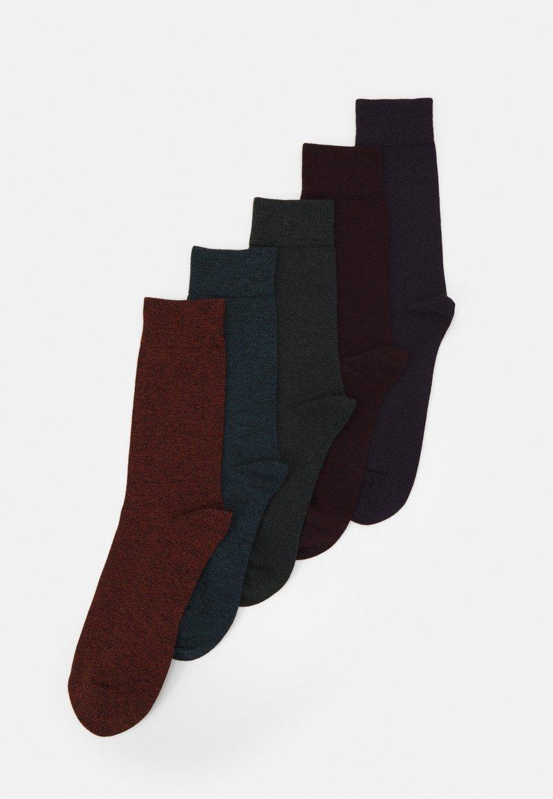 Pier One - 5 PACK - Socks - red