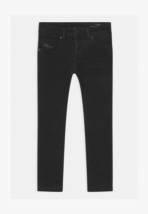THOMMER UNISEX - Slim fit jeans - denim nero