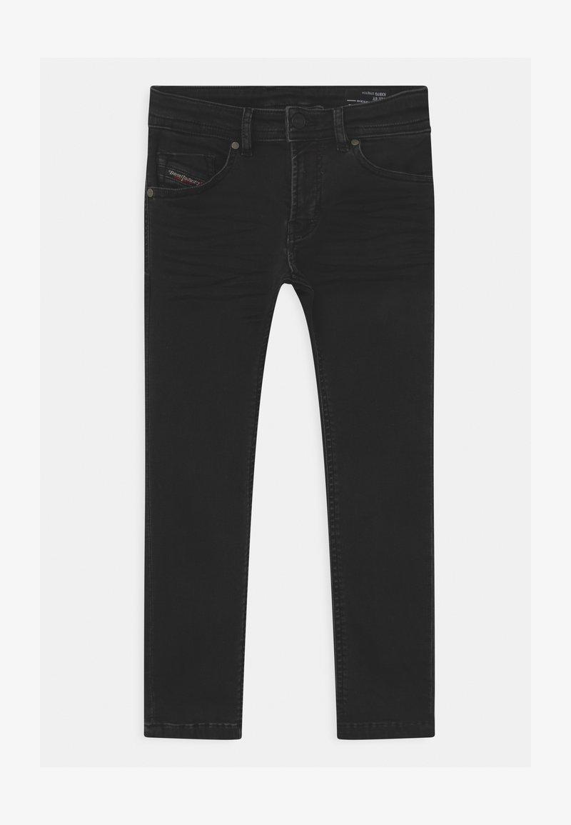 Diesel - THOMMER UNISEX - Slim fit jeans - denim nero