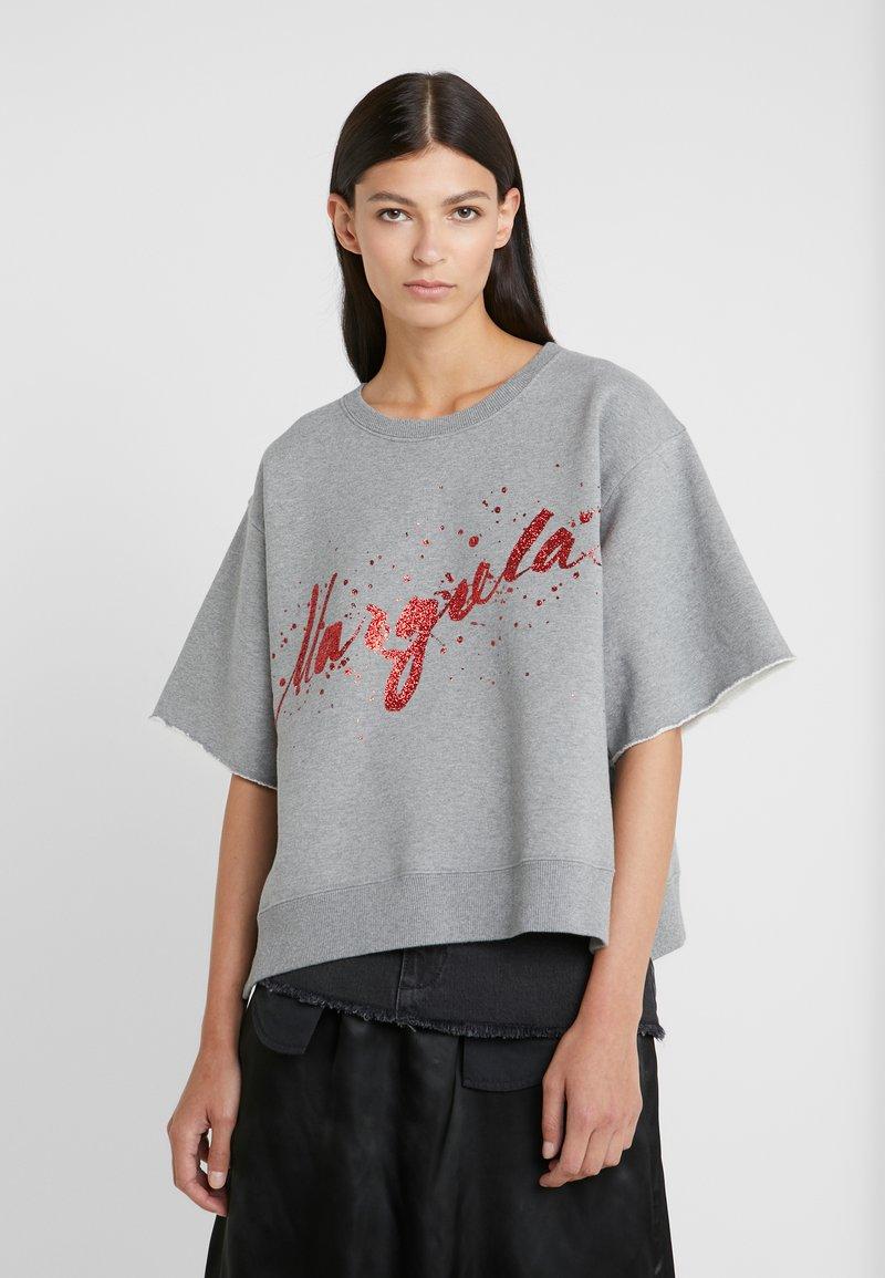 MM6 Maison Margiela - T-shirt imprimé - grey melange