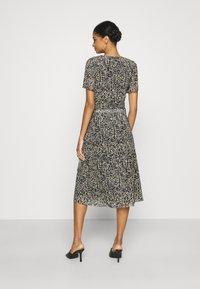 Soaked in Luxury - LOURDES WRAP DRESS - Day dress - beige - 2