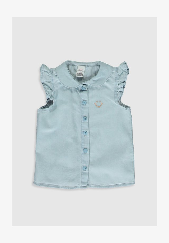 Overhemdblouse - indigo