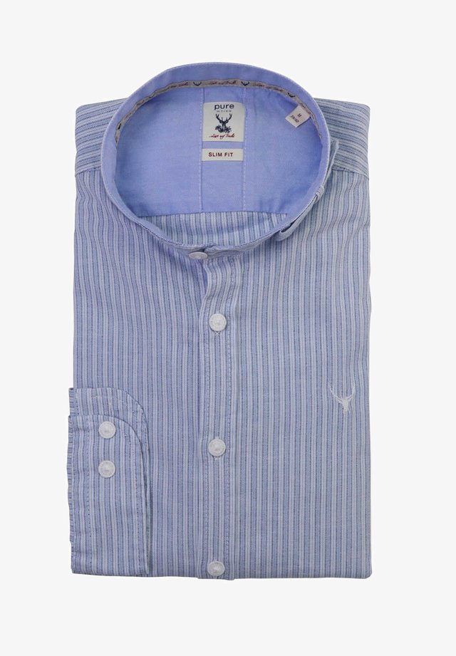 SLIM FIT - Shirt - dunkelblau
