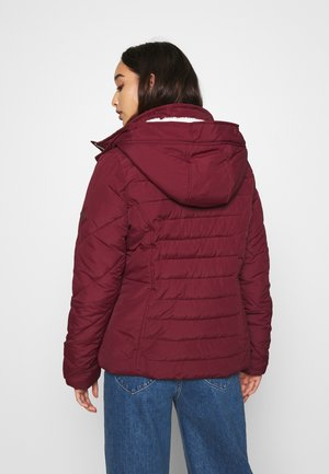 CORE - Winter jacket - burgundy